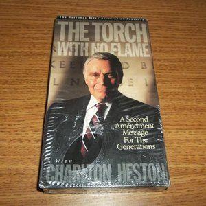 THE TORCH.. SECOND AMENDMENT CHARLTON HESTON VHS